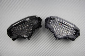 LED Taillight with Integrated turn signals for Yamaha FZ6 N F Fazer 600 2004 / 14