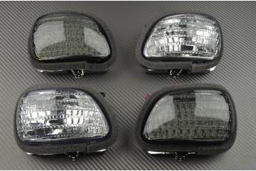 Paire de clignotants avant Honda GL1800 Goldwing et F6C