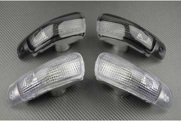 Pair of front turn signals Kawasaki ZZR 600 1993 - 2005
