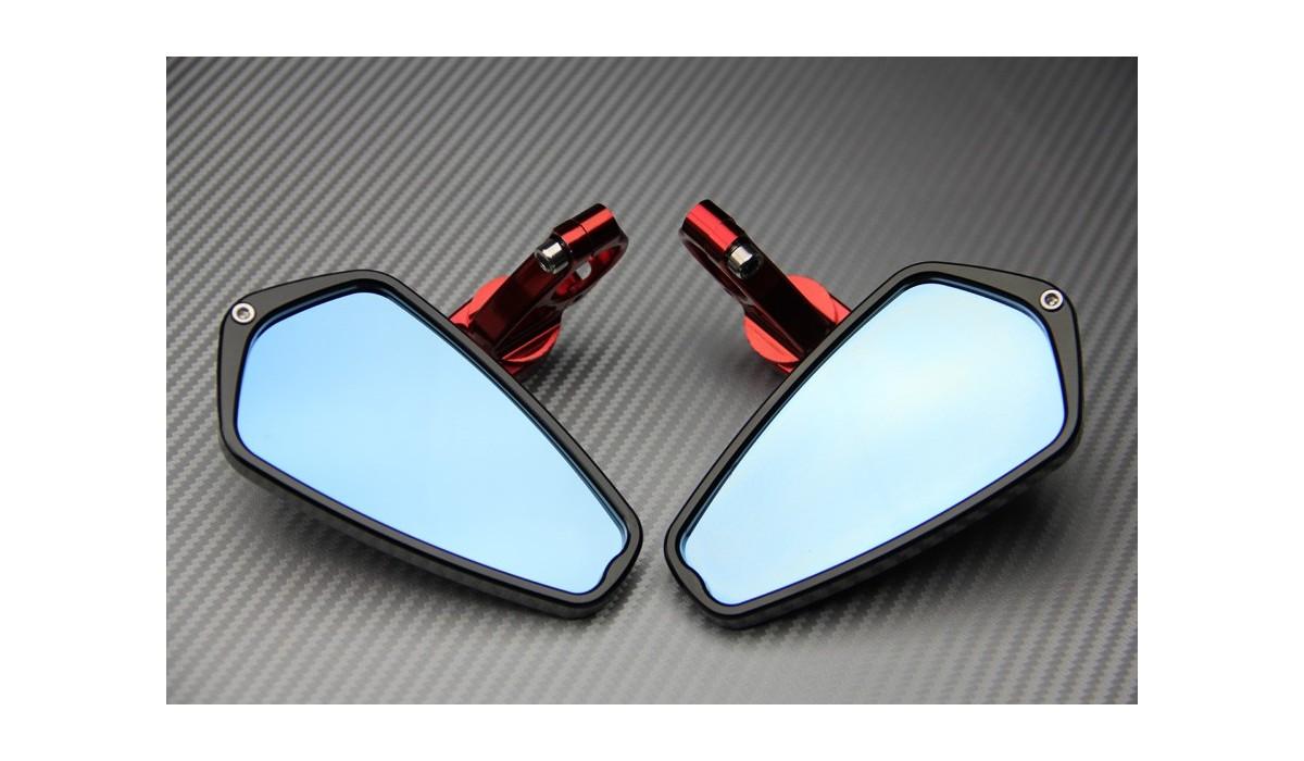 Par espejos retrovisores para el extremo del manillar - AVDB MOTO L ...