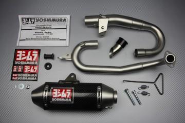 Auspuff-komplett YOSHIMURA RS-2 Kohlenstoff / Edelstahl für Honda MSX 125 2016-2018