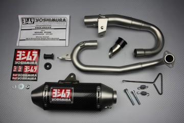 Full Exhaust System Honda MSX GROM 125 2016-2018 Yoshimura RS-2 Carbon / Stainless Steel