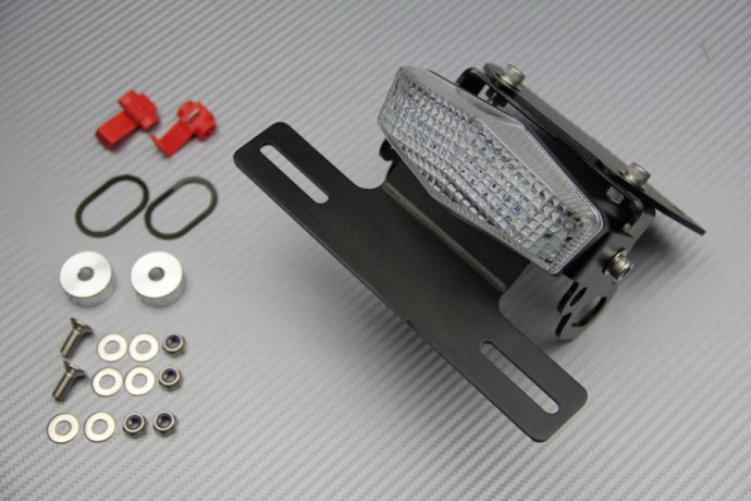 Specific License Plate Holder With 3 Functions Led Light For Honda