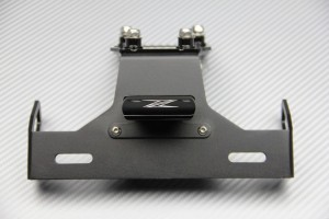 Specific License plate holder for KAWASAKI ZX6R 09 / 16 & ZX10R 08 / 10