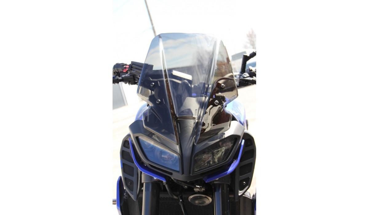 Fz 09 Yamaha >> Polycarbonate Touring Windscreen Yamaha MT09 / MT-09 SP ...