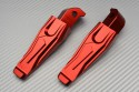 Pair of Rear Anodized Footpegs for many YAMAHA