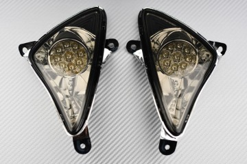 Paar vordere getönte LED-Blinker YAMAHA TMAX 500 2001 - 2007