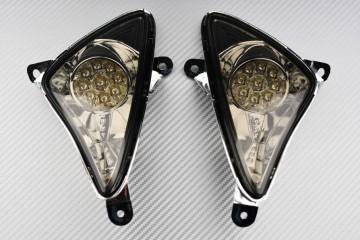 Pair of front LED smoke turn signals Yamaha TMAX 500 2001 - 2007