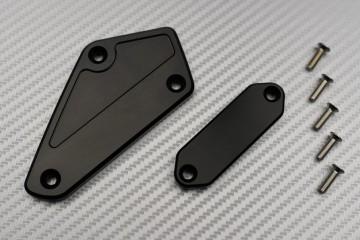 Paar Brems- und Kupplungsflüssigkeitsbehälterdeckel Yamaha VMAX 1700