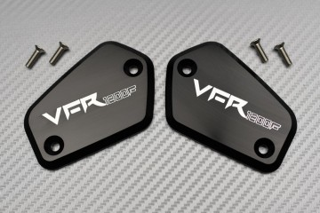 Pair of Brake and Clutch Fluid Reservoir Caps HONDA VFR 1200
