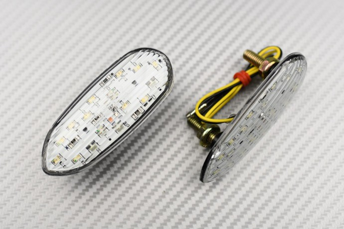 Obturadores de Retrovisores con Intermitentes LED Integrados - Muchos SUZUKI GSXR 600 750 1000
