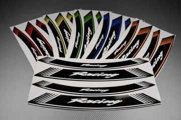 Inner Wheel Rims Stickers - RACING Model