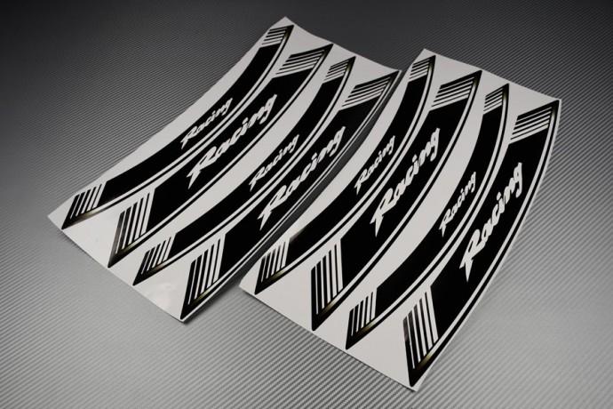 Liserets Intérieur de jantes - Modèle Racing