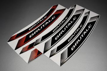 Stickers de llantas - Modelo con sigla ' BRUTALE '