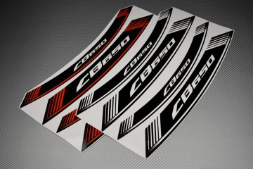 Inner Wheel Rims Stickers - CB 650 Model