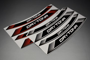 Motorrad Felgenrandaufkleber - DAYTONA Modell