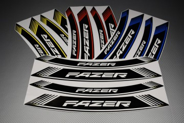 Inner Wheel Rims Stickers - ' FAZER ' Model