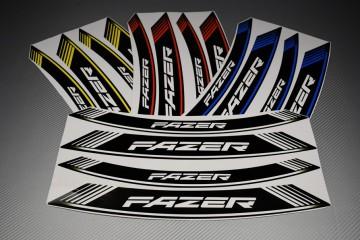 Inner Wheel Rims Stickers - ' FAZER ' Model