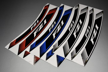 Inner Wheel Rims Stickers - ' FZ1 ' Model