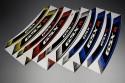 Inner Wheel Rims Stickers - ' GSXR ' Model