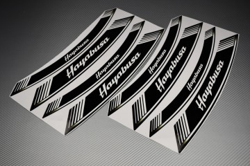 Inner Wheel Rims Stickers - ' HAYABUSA ' Model