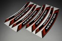 Inner Wheel Rims Stickers - ' MONSTER ' Model