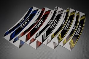 Inner Wheel Rims Stickers - ' MT ' Model
