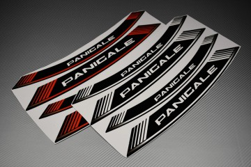 Inner Wheel Rims Stickers - ' PANIGALE ' Model