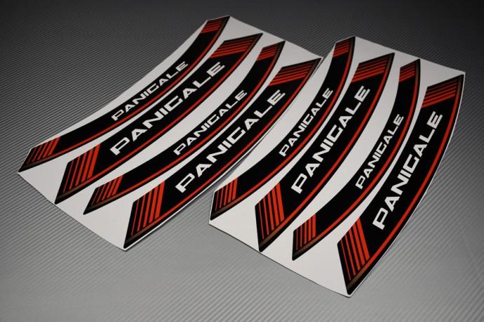 Stickers de llantas - Modelo con sigla ' PANIGALE '