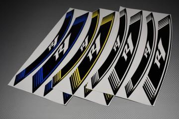 Liserets Intérieur de jantes - Modèle siglé ' R1 '