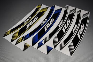 Inner Wheel Rims Stickers - ' R6 ' Model