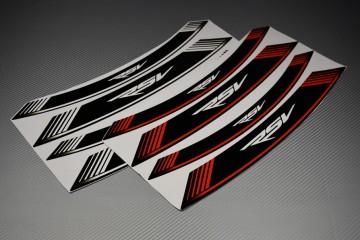 Inner Wheel Rims Stickers - ' RSV ' Model