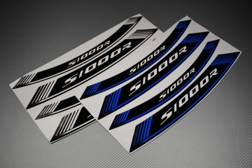Inner Wheel Rims Stickers - ' S1000R ' Model