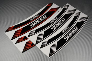 Inner Wheel Rims Stickers - ' SPEED TRIPLE 1050 ' Model