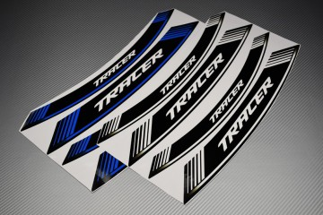 Inner Wheel Rims Stickers - ' TRACER ' Model