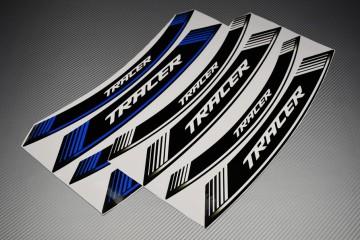 Motorrad Felgenrandaufkleber - ' TRACER ' Modell