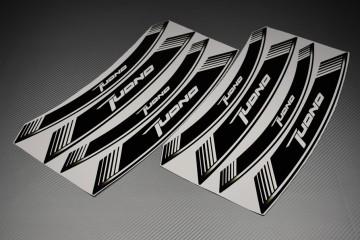Liserets Intérieur de jantes - Modèle siglé ' TUONO '