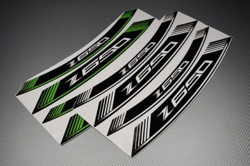 Inner Wheel Rims Stickers - ' Z650 ' Model