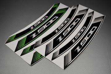 Liserets Intérieur de jantes - Modèle siglé ' Z900 '