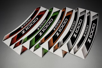 Inner Wheel Rims Stickers - ' Z1000 ' Model