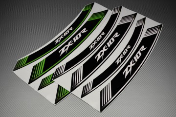 Inner Wheel Rims Stickers - ' ZX10R ' Model