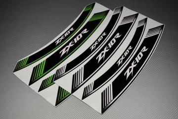 Motorrad Felgenrandaufkleber - ' ZX10R ' Modell