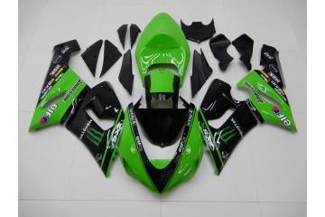 Komplette Motorradverkleidung für KAWASAKI ZX6R 2005 / 2006