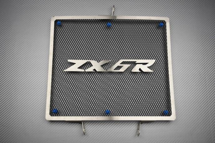 Griglia Radiatore Protezione del Radiatore per Kawasaki ZX6R//636 ZX-6R 2013-2019