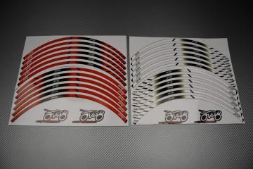 Stickers de llantas universales Racing - Modelo AVDB MOTO
