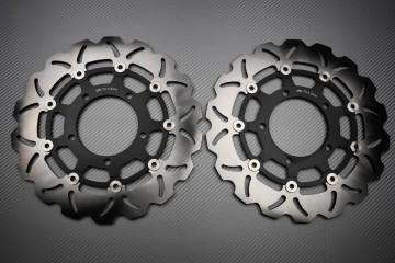Paar Bremsscheiben (Wellen) Suzuki GSXR 600 750 K6 K7 GSX-R 1000 K5 K8