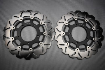Paar wave Bremsscheiben 310mm Suzuki GSXR 600 750 K6 K7 GSX-R 1000 K5 K8