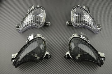 Pair of front turn signals Suzuki Gsxr Hayabusa 1340 2008 / 2019
