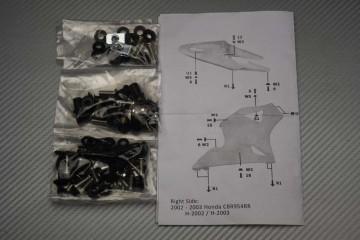 Complete Fairings Fastening Hardware Set Honda CBR 900 / 954 RR 2002 - 2003