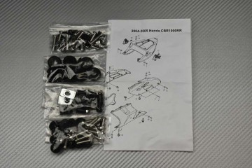 Schraubensatz Komplettverkleidung Honda CBR 1000 RR 2004 - 2005